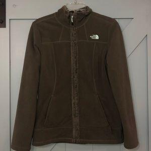 The North Face jacket medium zip up synchilla